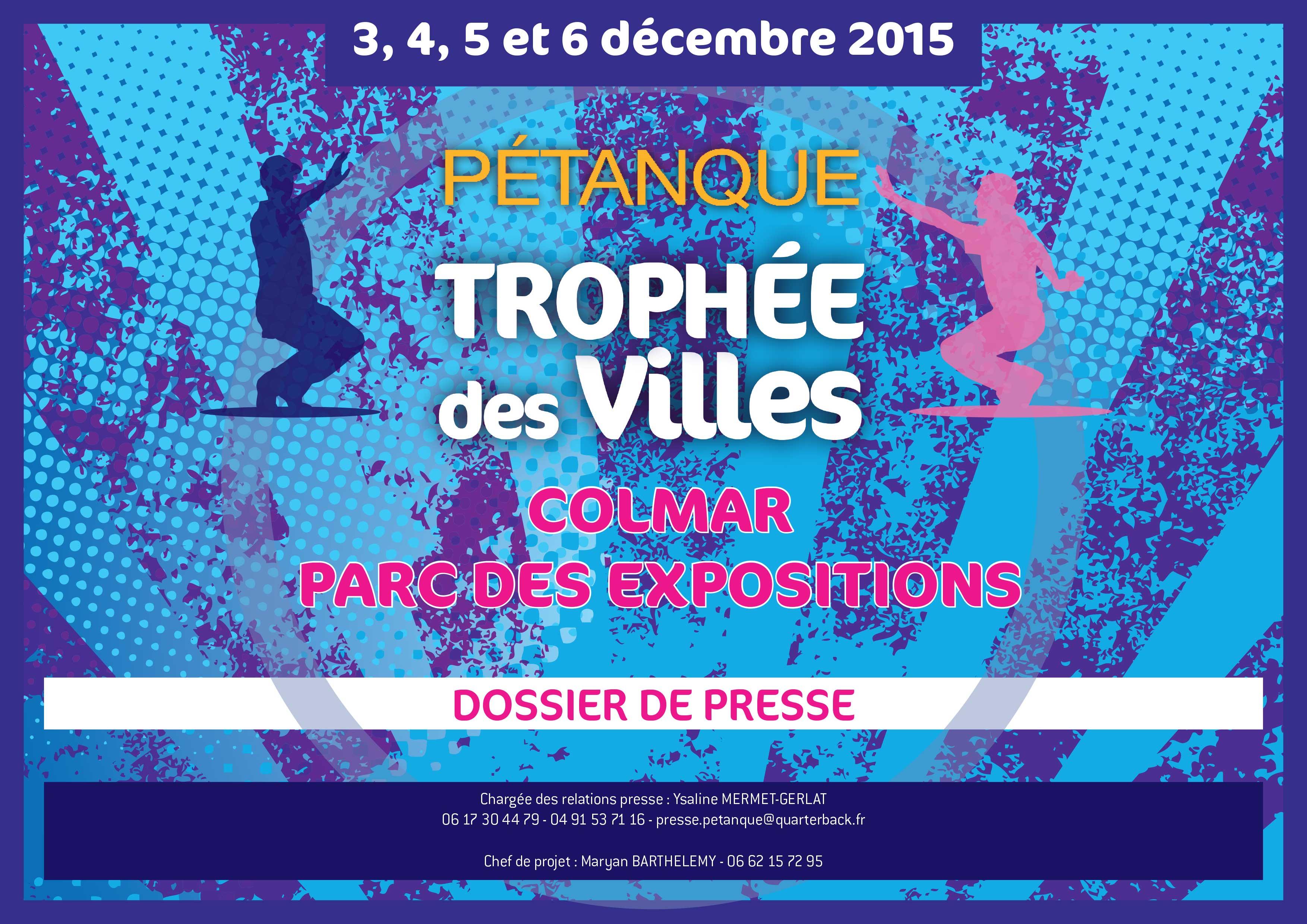 TROPHEE DES VILLES 2014 : LISTE 32 EQUIPES