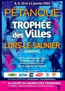 AFFICHE TROPHEE DES VILLES 2014